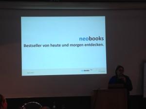 neobooks präsentiert ihre Dienstleistungen