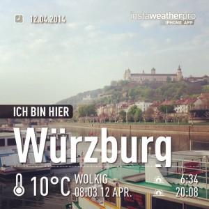 Würzburg grüßt freundlich